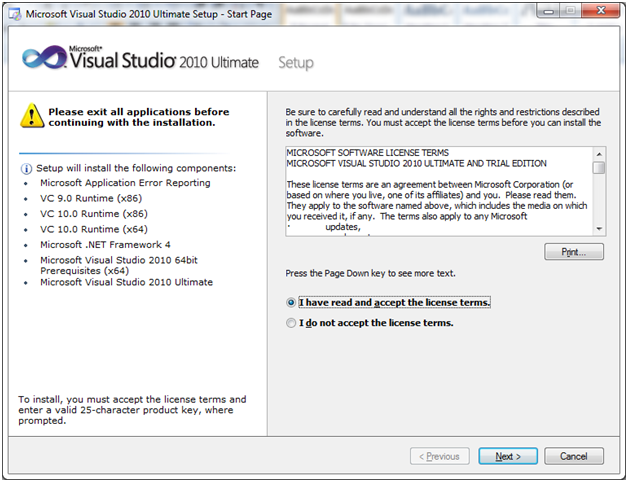 SQL server visual studio 4