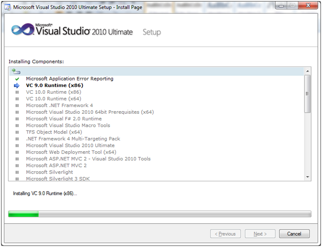 SQL server visual studio 6