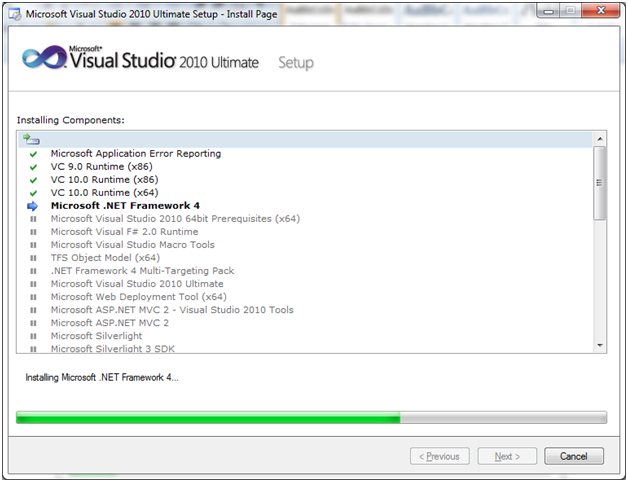 SQL server visual studio 7
