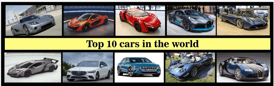 Top 10 Cars in the World
