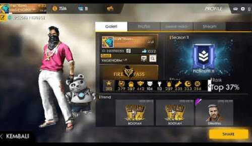 Top 10 Free Fire Players In India