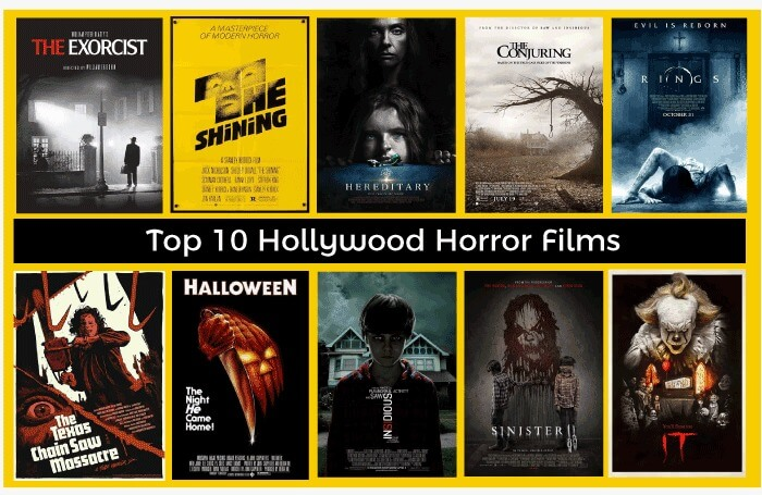 Top 10 Hollywood Horror Movies