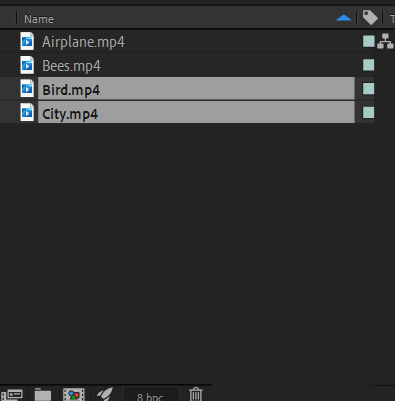 Composition in Adobe After Effect