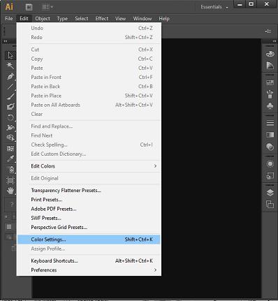 Color Management in Adobe Illustrator
