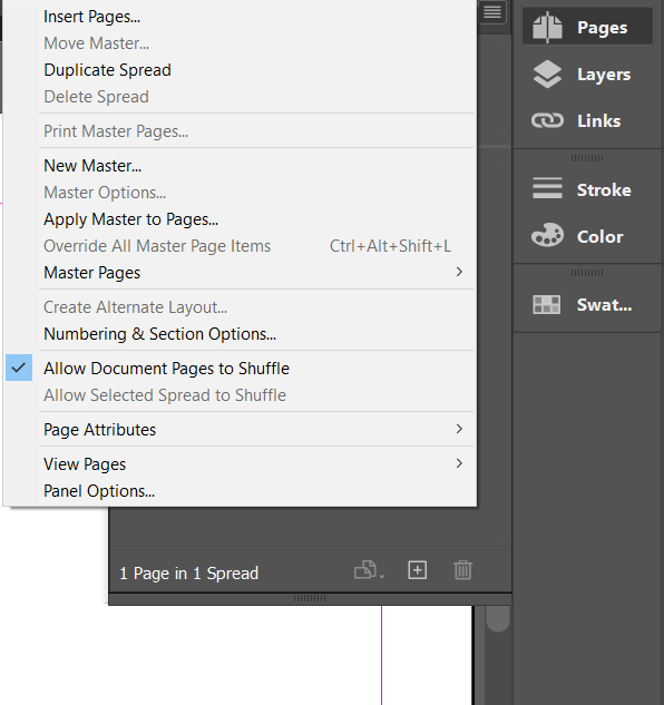 InDesign - Create the First Document