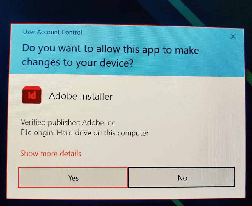 Adobe InDesign Installation