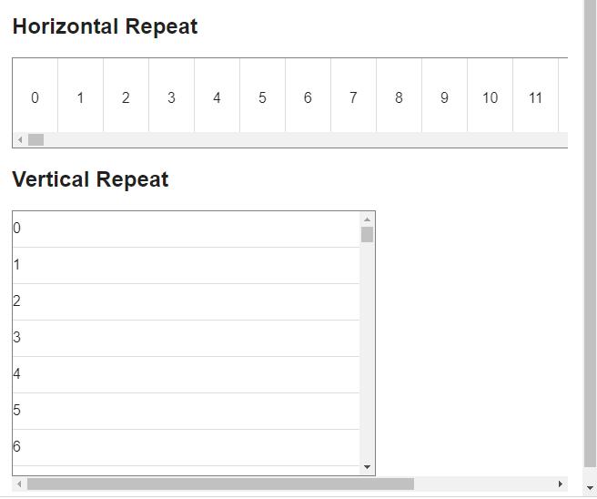 Angular Material Virtual Repeat