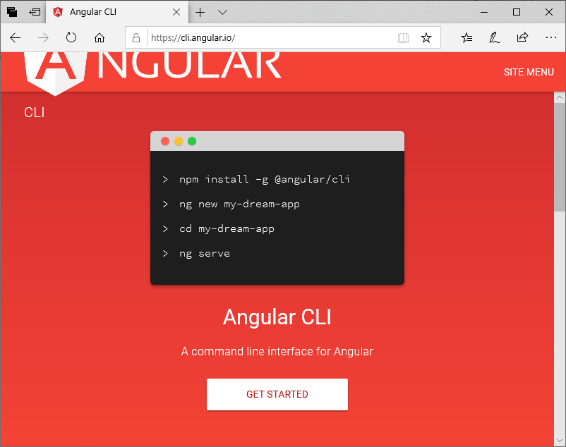 How to install Angular 7