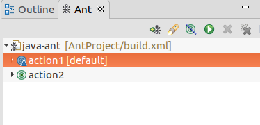 Apache Ant IDE Integration
