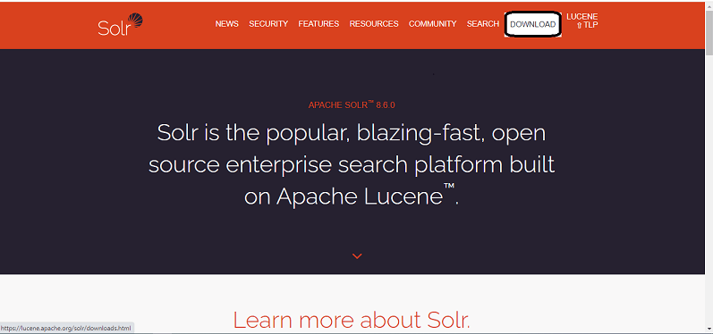 Installing Apache Solr