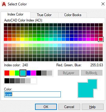 AutoCAD Background Color