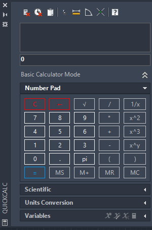 AutoCAD Calculator