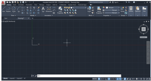 AutoCAD Display