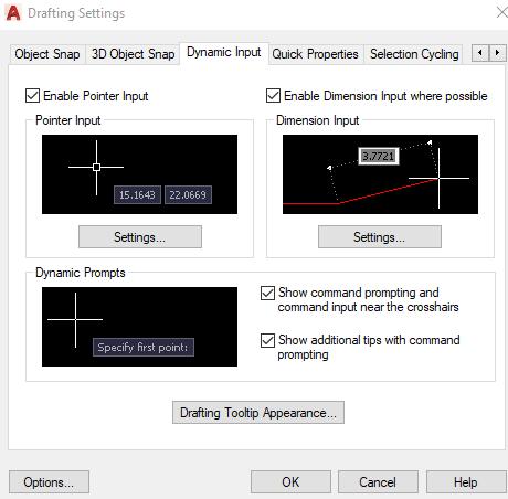 Dynamic Input