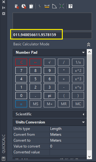 Started with QuickCalc
