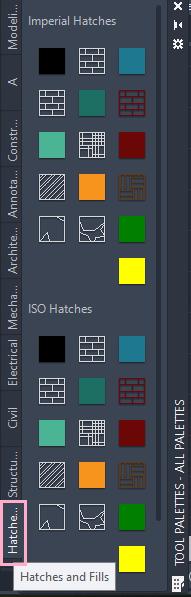 AutoCAD Tool Palette