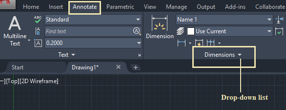 Other AutoCAD Dimension Commands