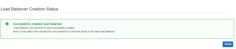 Creating Load Balancer