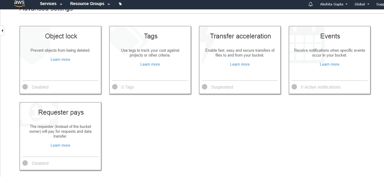 AWS S3 Transfer Acceleration
