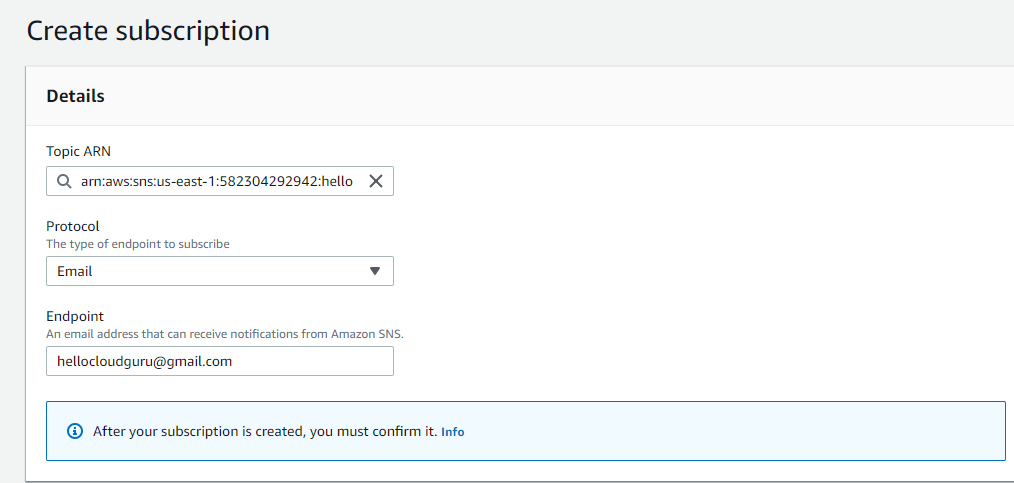 AWS SNS | Simple Notification Service - Javatpoint