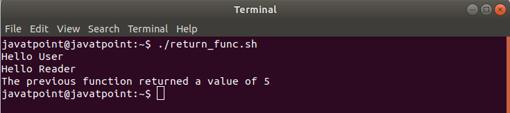 Bash Functions