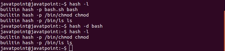 Hash Command