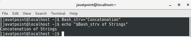 Bash Variables - Javatpoint