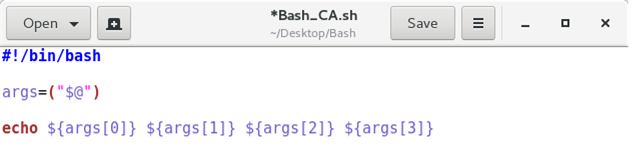 Bash Variables