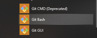 Git Bash