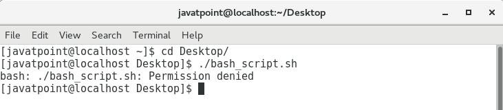 Hello World! Bash Script