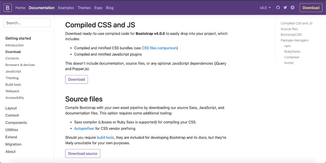 Bootstrap 4 - Environment Setup