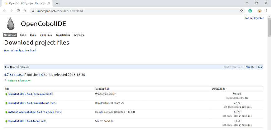 COBOL Installation