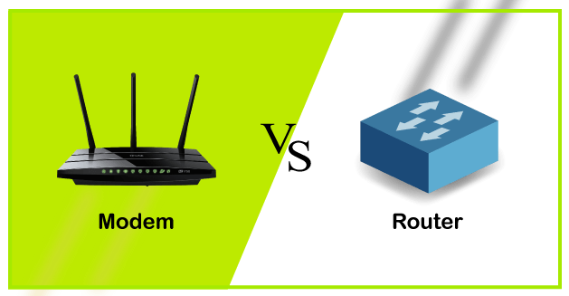 Modem vs Router