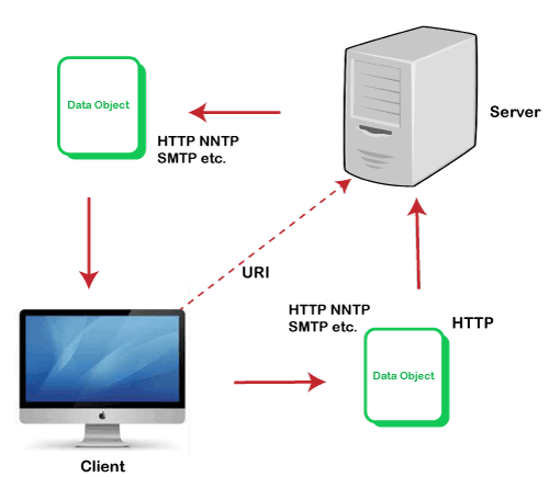WWW is based on which model
