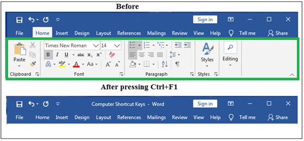 Computer Shortcut Keys