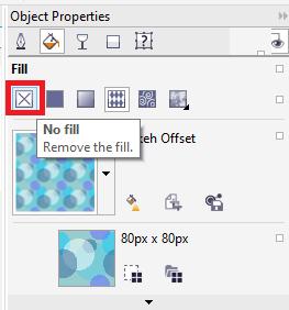 CorelDRAW Filling Objects