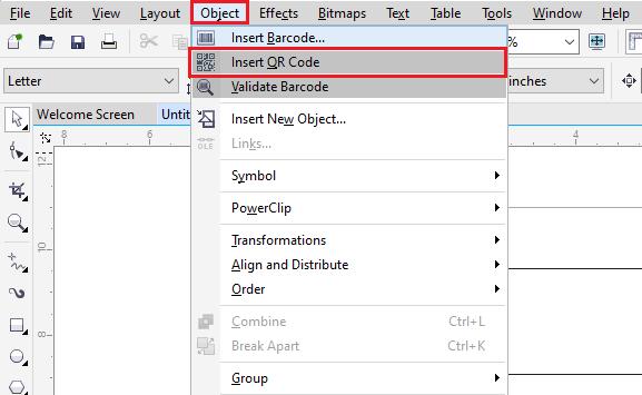 CorelDRAW: QR codes