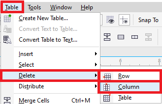 CorelDRAW: Tables