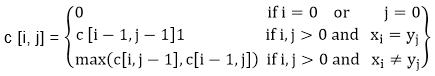DAA Characteristics of Longest Common Sequence