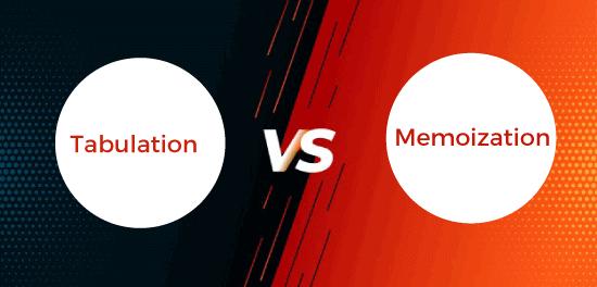 Tabulation vs Memoization