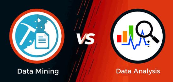 Data Mining vs Data Analysis