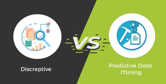 Descriptive vs Predictive Data Mining