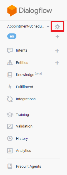 Dialogflow Tutorial