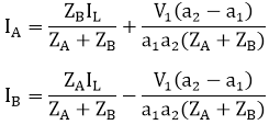 Parallel operations of transformers