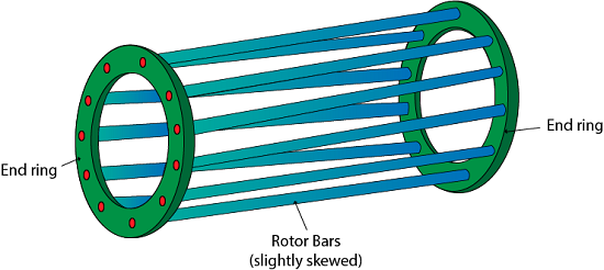 Types of three phase induction motor rotor