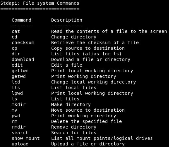 Ethical Hacking | Filesystem Commands - javatpoint