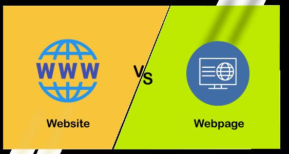 Website vs Webpage