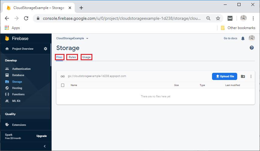 Cloud Storage Setup and Configuration
