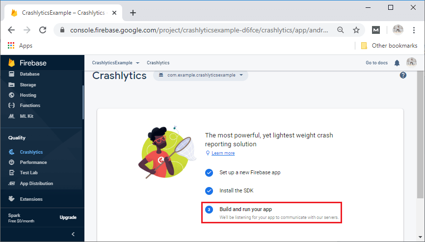 Firebase Crashlytics Setup and Configuration