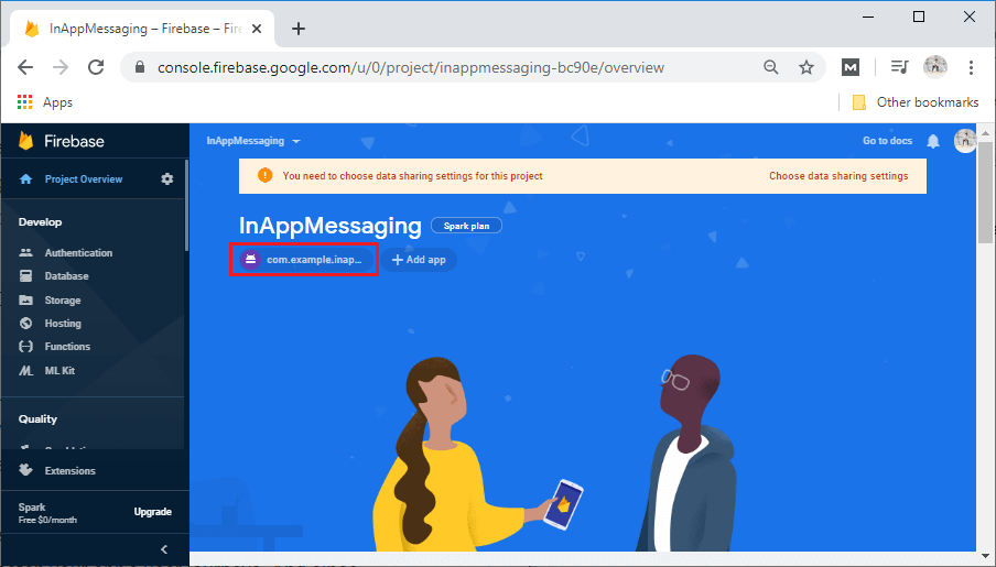 Firebase In-App Messaging Setup and Configuration